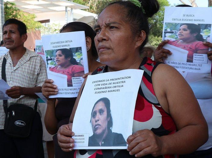 ONU pide reforzar búsqueda de dos activistas desaparecidos en México