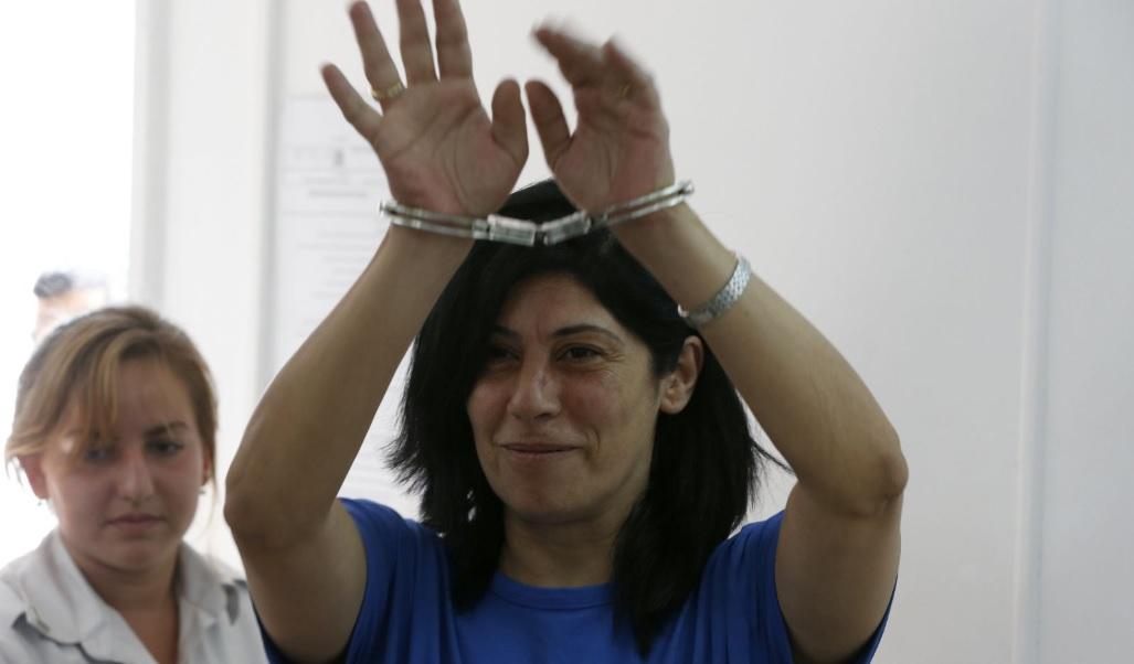 La historia de la diputada palestina Khalida Jarrar, prisionera política en Israel