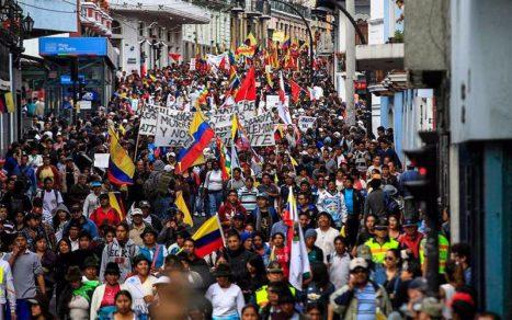 Defensor del Pueblo de Ecuador afirma que se violaron derechos humanos en octubre de 2019