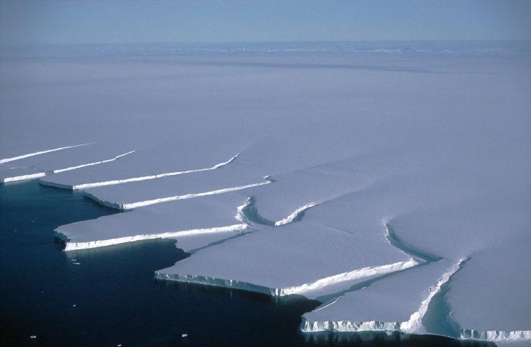 Un iceberg de más de mil kilómetros cuadrados está por desprenderse en la Antártica