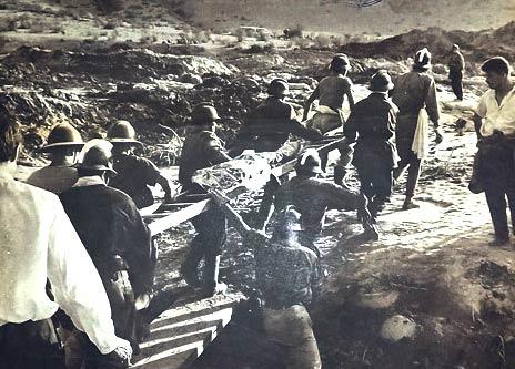 Memoria histórica: El desastre del tranque de relave El Cobre que dejó cientos de muertos en 1965