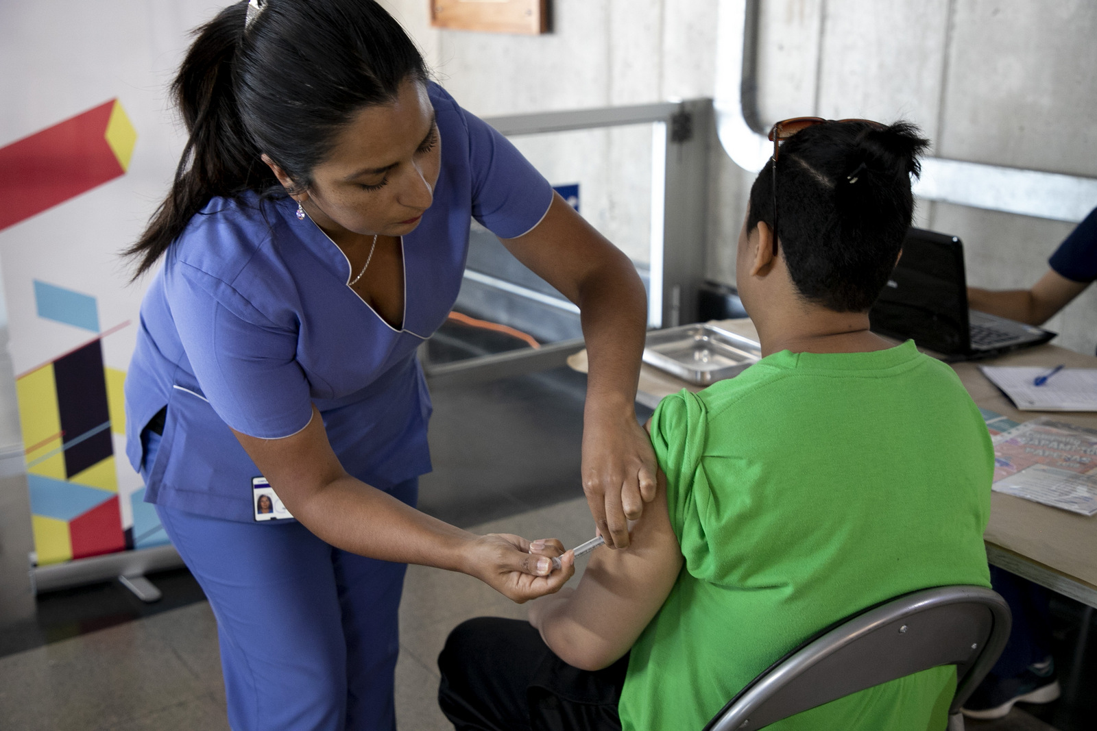 Valparaíso: Autoridades comunales realizan llamado a vacunarse contra el sarampión, rubéola y paperas