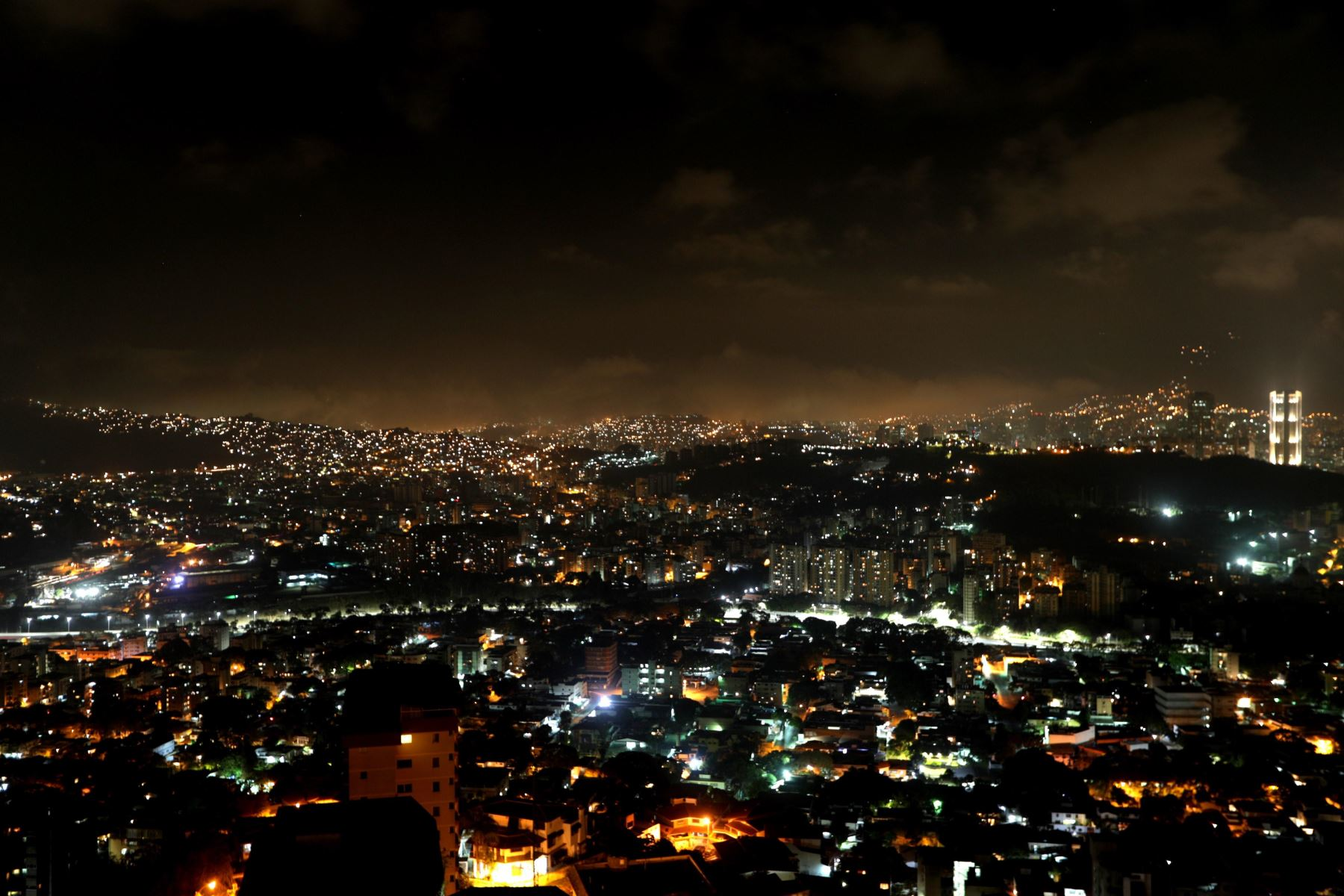 Estatus de restablecimiento del servicio eléctrico en Venezuela