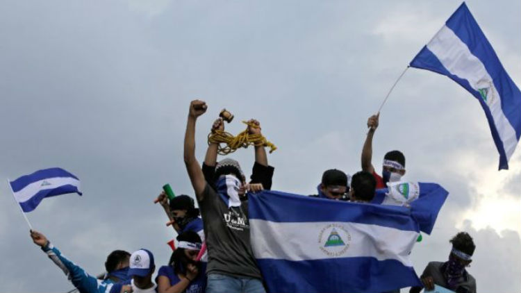 Gobierno de Nicaragua y oposición acuerdan hoja de ruta para superar crisis política