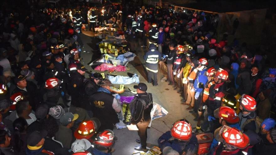 (VIDEO) 18 indígenas mueren en Guatemala al ser arrollados por camión