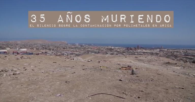 35 años muriendo: El silencio sobre la contaminación por polimetales en Arica
