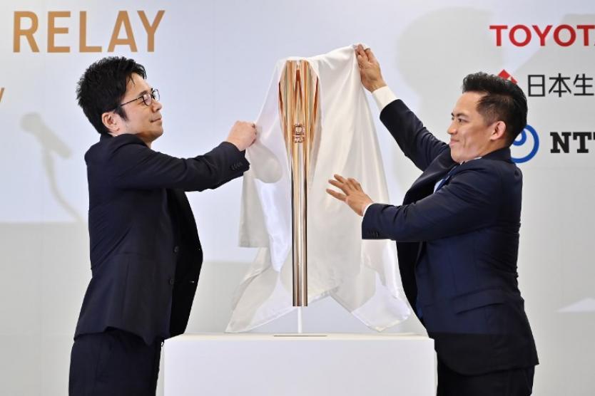 Antorcha olímpica de Tokio 2020 está inspirada en la flor del Cerezo
