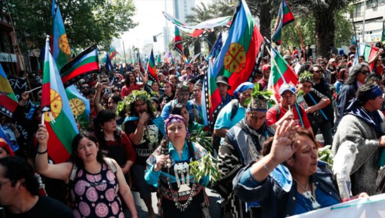 Comunidades mapuche llaman a marchar por la desmilitarización y la libre determinación