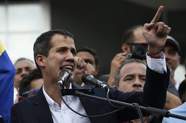 (Vídeo) Así fue la llegada de Juan Guaidó a Venezuela