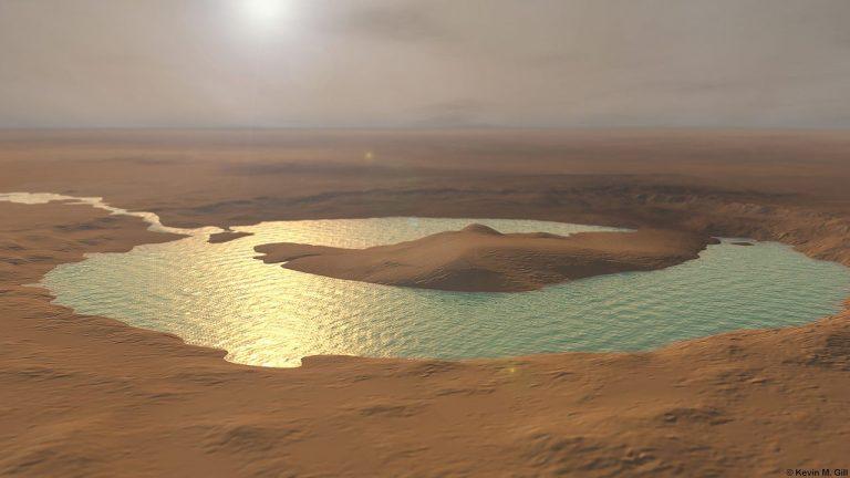 Científicos encuentran evidencia de lagos subterráneos en Marte