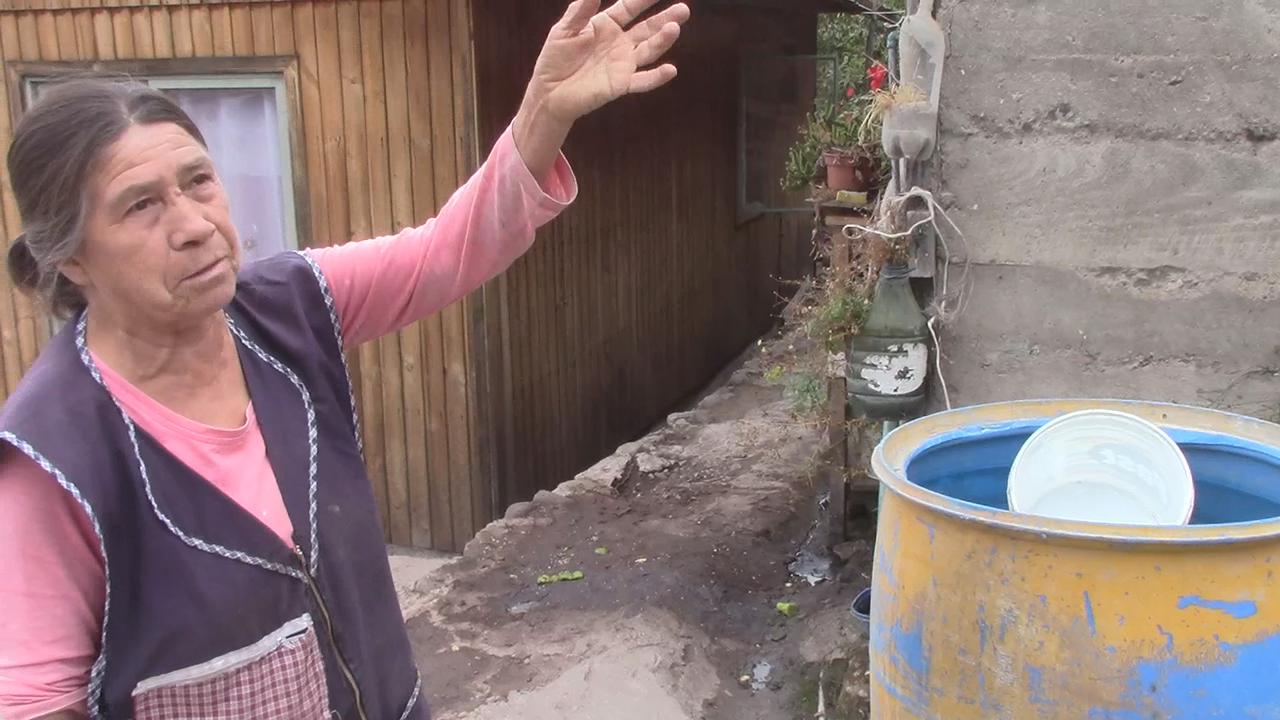 En la Quebrada del Pobre: Vivir privados de agua