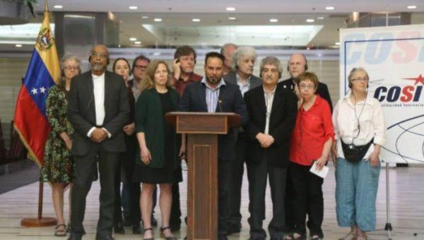 Activistas internacionales niegan que exista crisis humanitaria en Venezuela