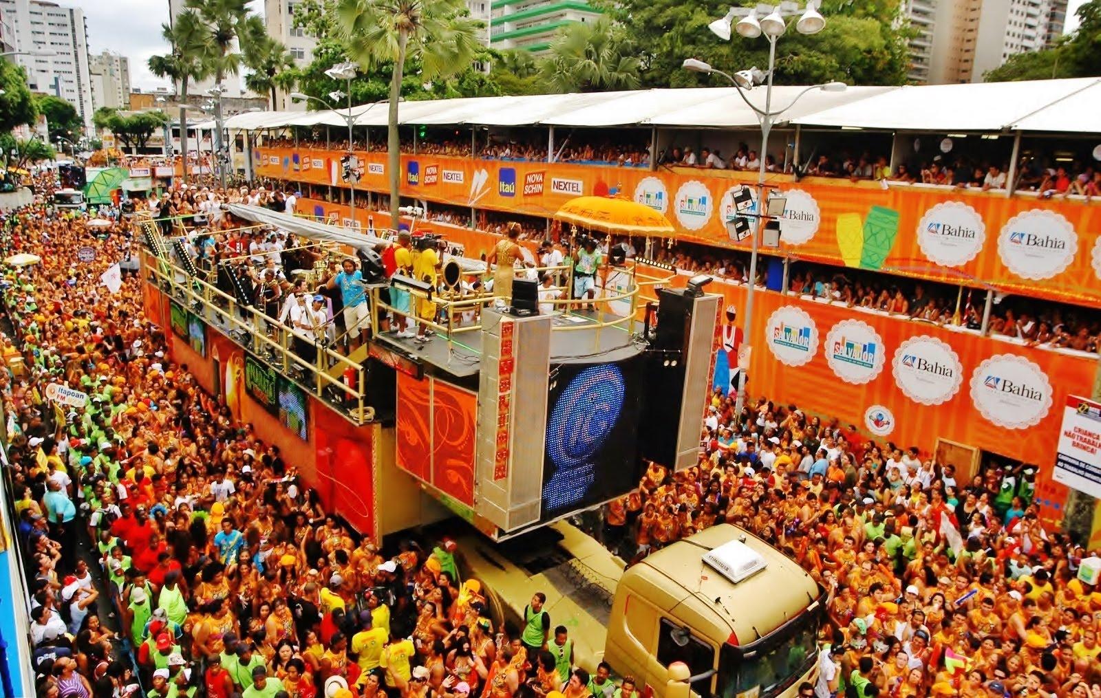 La música, el baile y el color son los protagonistas del Carnaval en Brasil