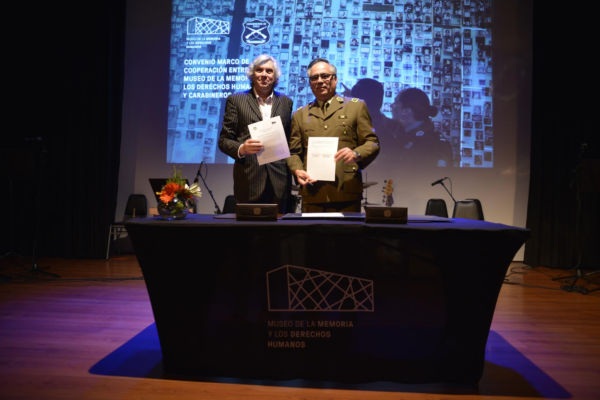 Museo de la Memoria avanza en formación en Derechos Humanos de Carabineros
