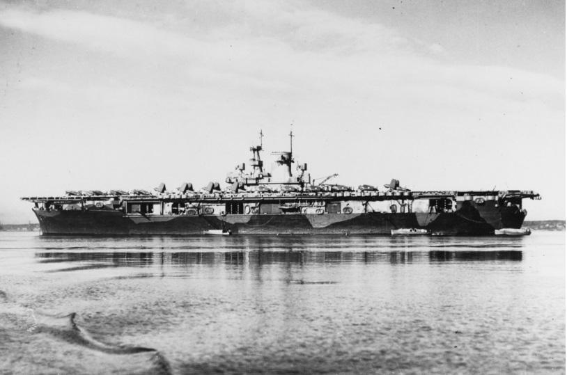 Encuentran portaviones de EE.UU. que fue hundido durante la II Guerra Mundial