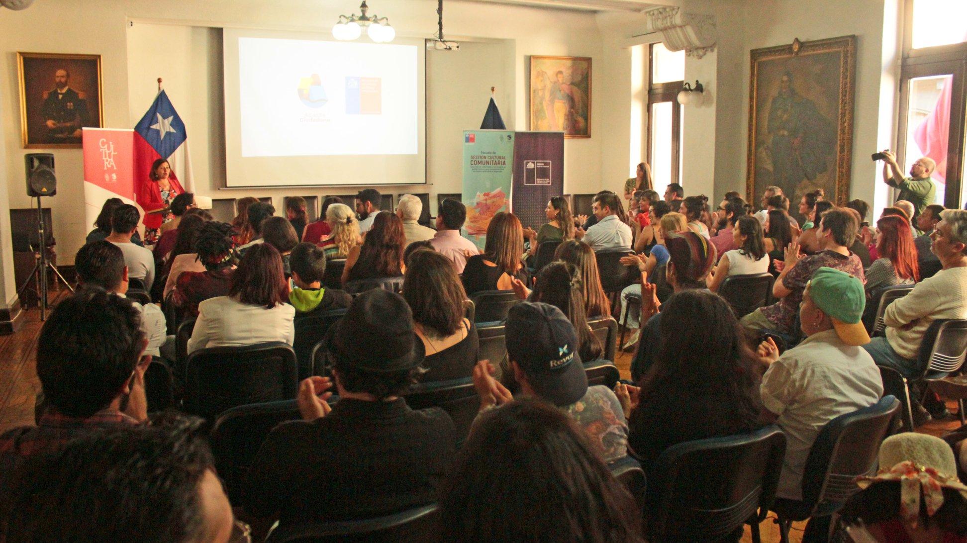 Valparaíso: Preparan segunda versión de la Escuela de Gestión Cultural Comunitaria