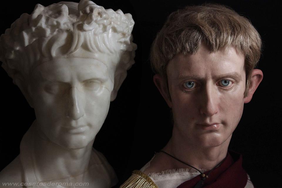 (Vídeo) Artista español crea bustos hiperrealistas de emperadores romanos