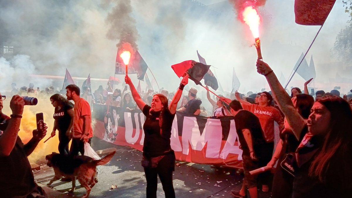Santiago: Más de veinte mil personas marcharon por el Derecho a la Vivienda y la Ciudad