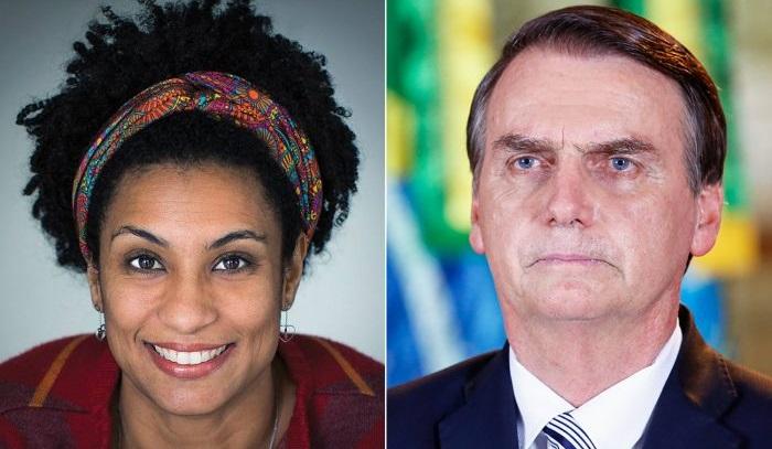 Bolsonaro guarda nexos con presuntos asesinos de concejala Marielle Franco y su chofer