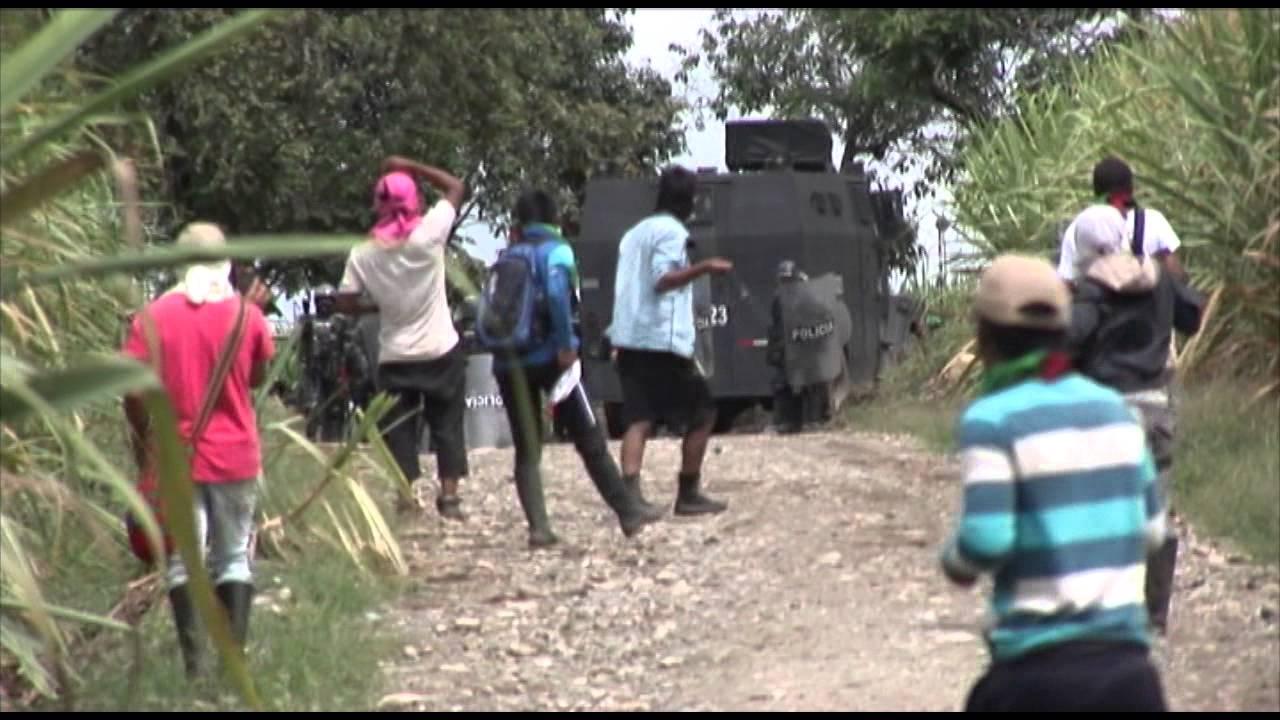 Indígenas colombianos denuncian abusos y represión de la Fuerza Pública