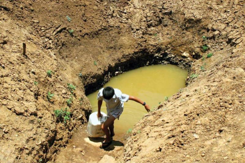 2 mil millones de personas en el mundo no tienenacceso al agua potable