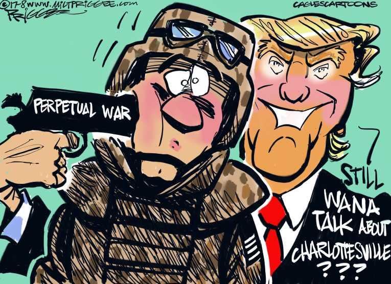 """""""Estamos siendo engañados para llevarnos en la guerra de nuevo"""""""