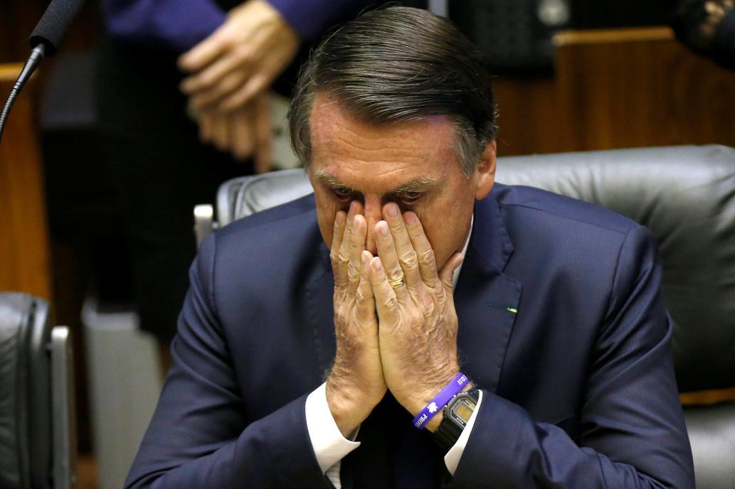 La popularidad de Jair Bolsonaro sigue en caída libre