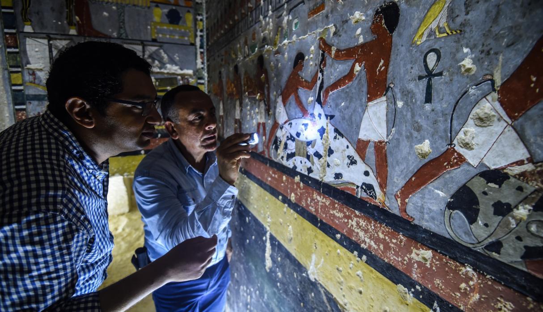 (+Fotos) Descubren una tumba en Egipto que tiene más de 4.300 años