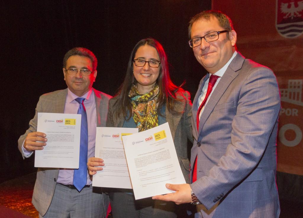 Coronel: Amnistía Internacional firma convenio con municipio y Colegio de Profesores