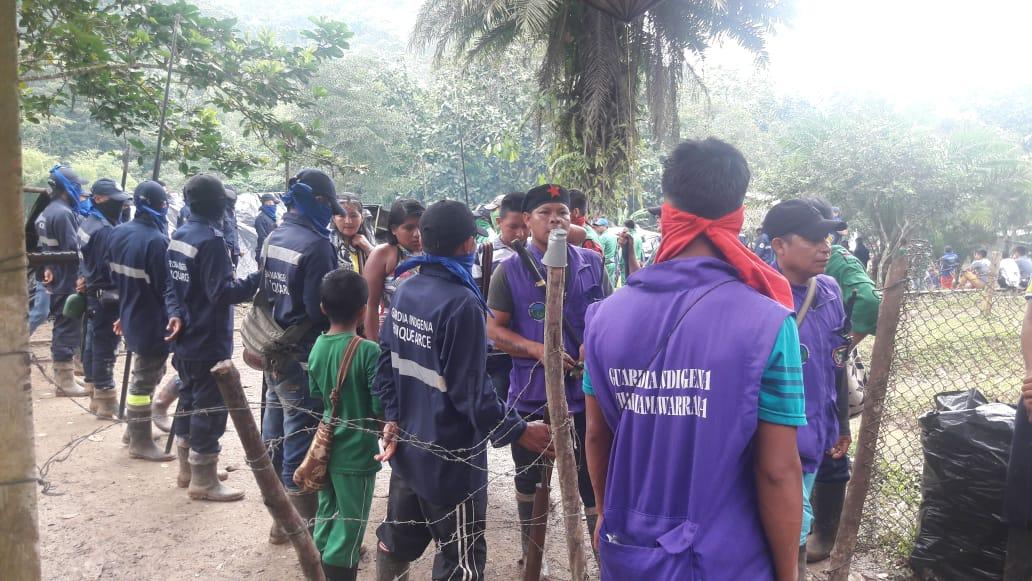 Indígenas colombianos suspenden el diálogo con el Gobierno por falta de garantías