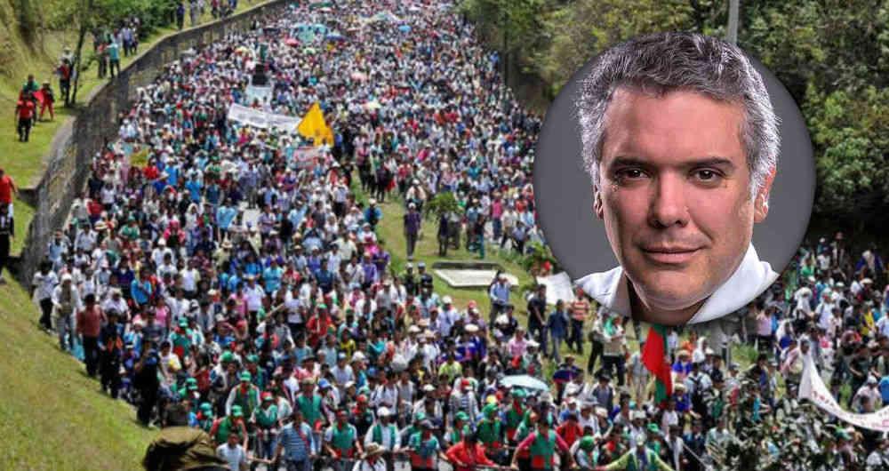 Paro nacional en Colombia es señal del descontento popular hacia Duque