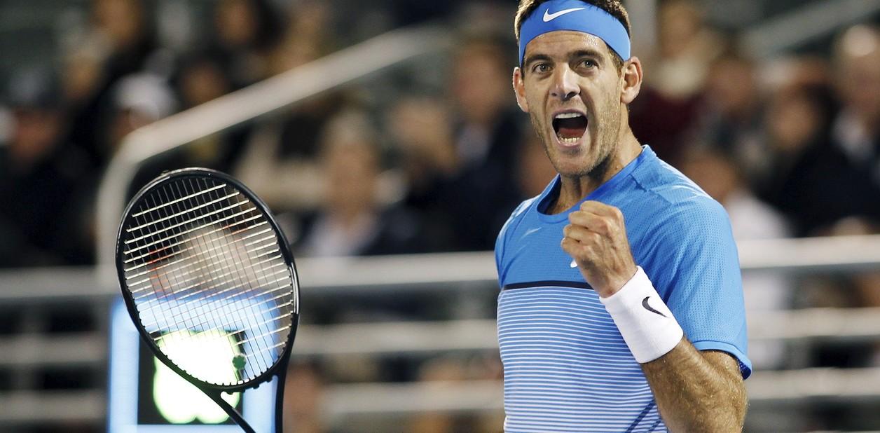 Argentino Juan Martín Del Potro se mantiene entre los primeros 10 del ranking ATP