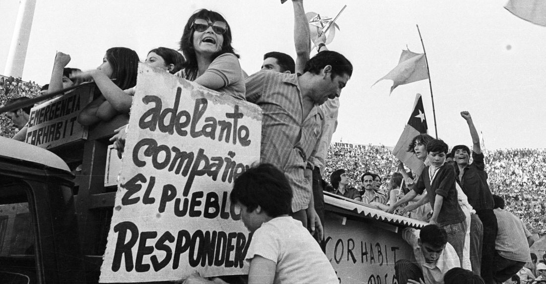 La Internacional de Allende llega desde Alemania a Chile