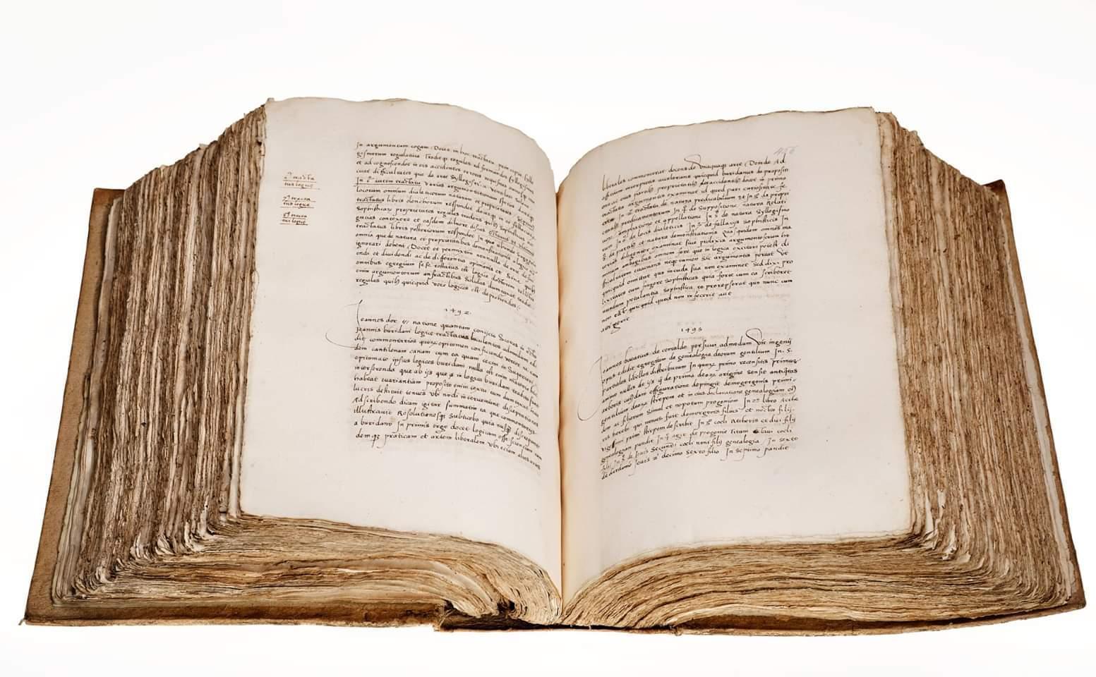 Hallan en Copenhague un manuscrito del hijo de Cristóbal Colón