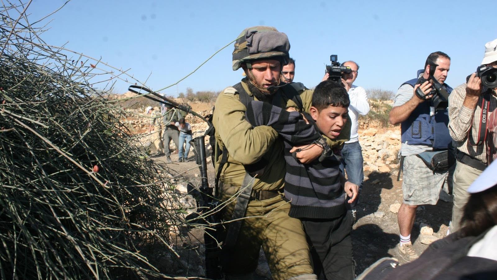 Más de 6.000 niños palestinos detenidos en Israel desde 2015