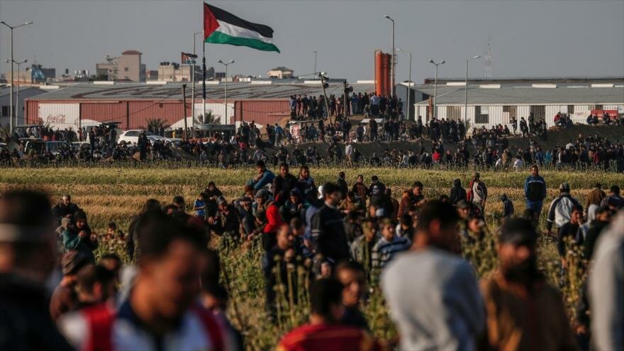 Palestinos reclaman su tierra a través de los deportes al aire libre