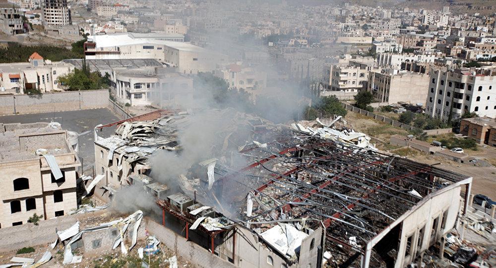 Menores de edad asesinados por bombardeo saudí a escuela en Yemen