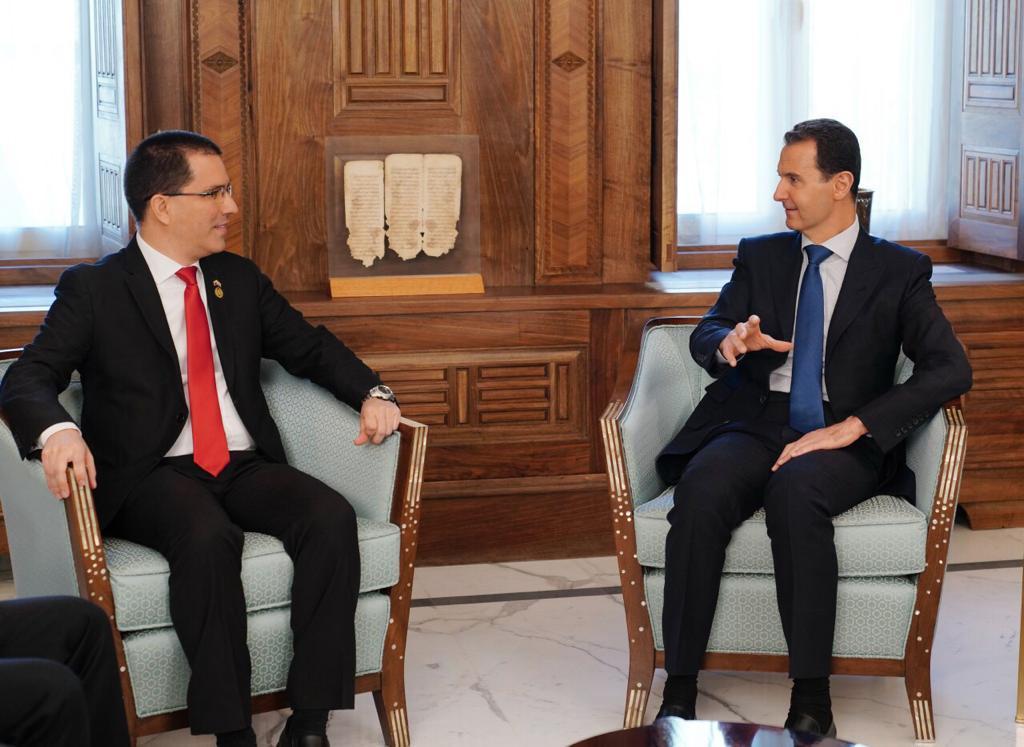 Al-Assad compara situación de asedio a Venezuela con la que vivió Siria