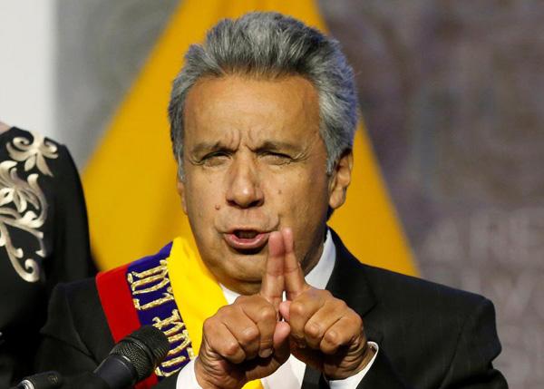 INA Papers: La trama de corrupción por la que Lenín Moreno retiró asilo a Assange