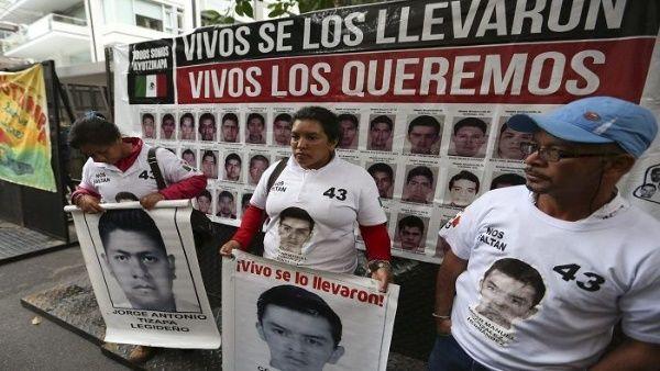 Crearán grupo de búsqueda para localizar a los 43 desapercidos de Ayotzinapa