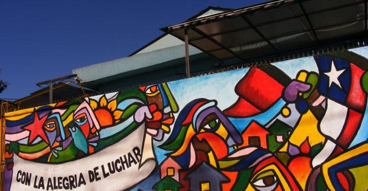 BRP dio inicio a su curso de muralismo en la Universidad Abierta de Recoleta
