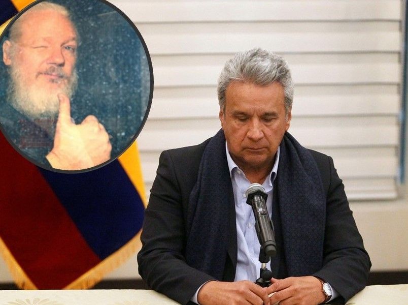 ¿Por qué era tan «incómodo» para Lenin Moreno albergar a Julian Assange?