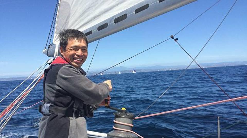 Un japonés es el pimer ciego en cruzar el Pacífico sin hacer ninguna parada