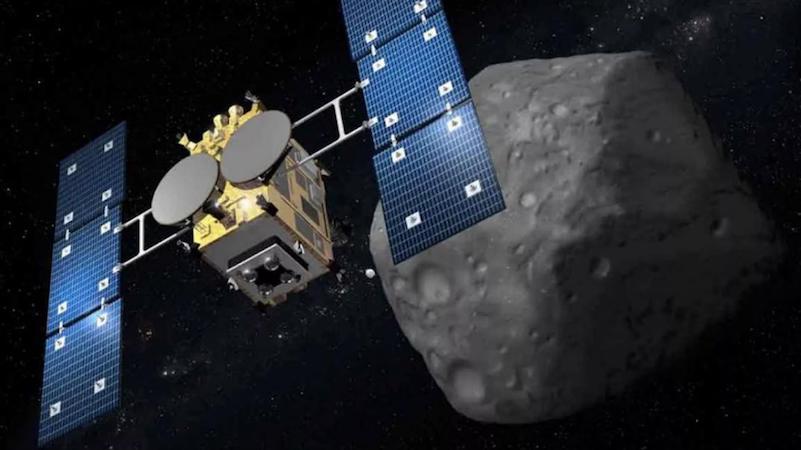 Japón se convierte en el primero en bombardear un asteroide