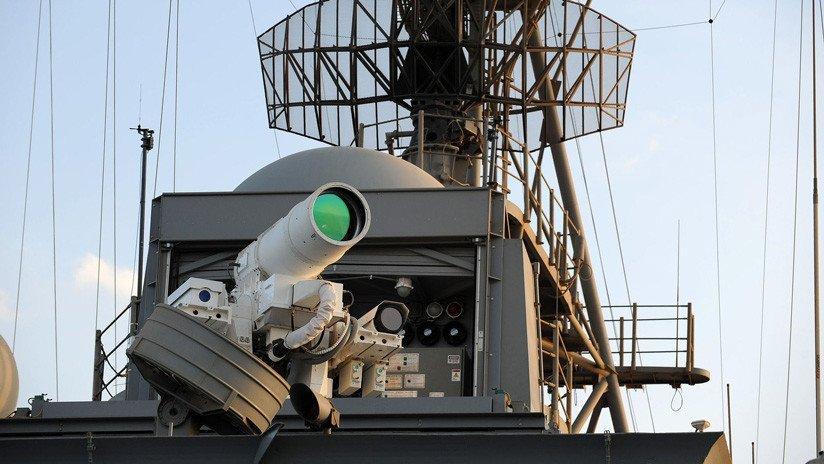 China muestra el gran alcance de su láser de combate naval