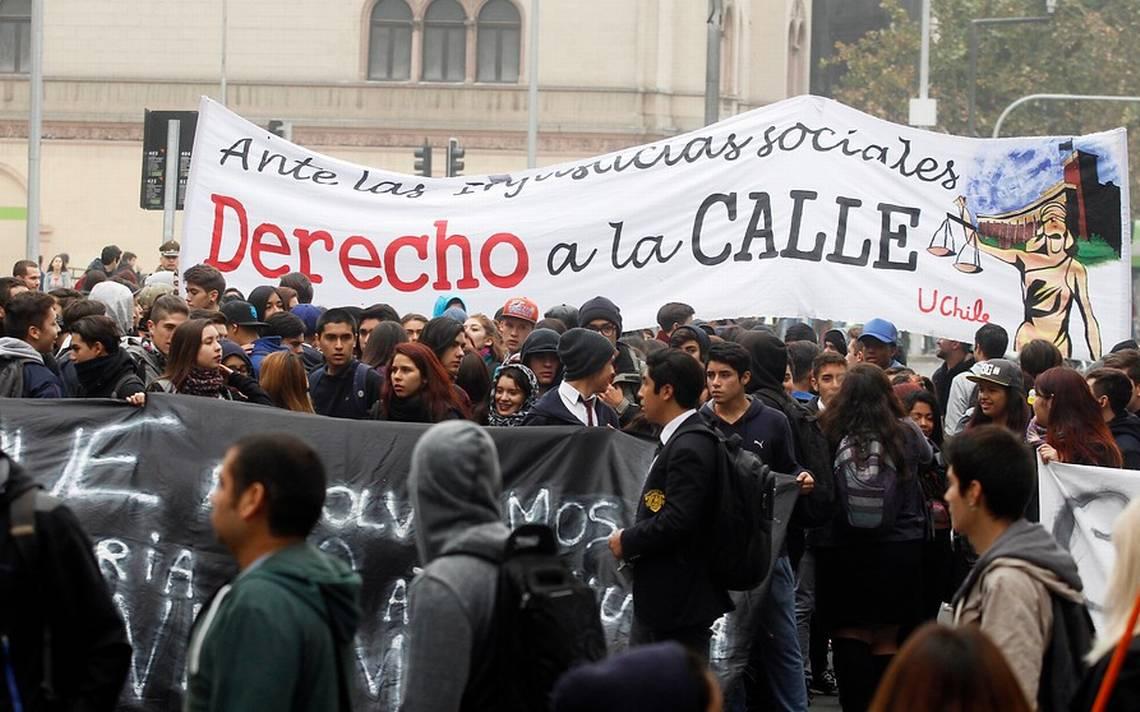 Secundarios adhieren a marcha de la Confech: Habrá movilizaciones en todo el país