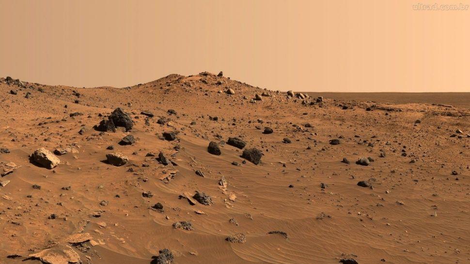 Un meteorito hallado en la Antártida arroja pistas de vida en Marte