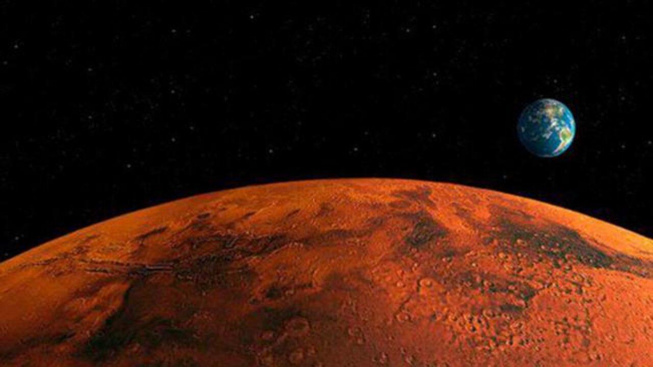 (Foto) NASA capta «diablo de polvo» en la superficie de Marte