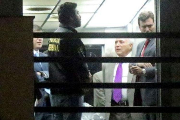 Fue detenido nuevamente el expresidente de Brasil Michel Temer