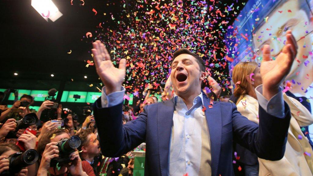 Vladímir Zelenski gana las elecciones presidenciales de Ucrania